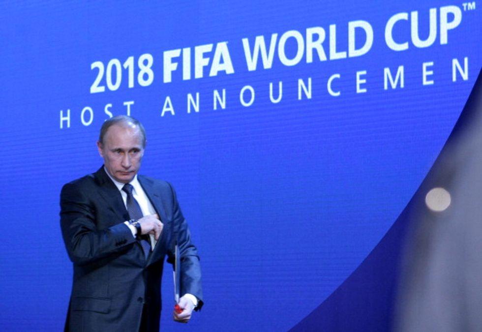 mondiale russia 2018 putin boicottaggio fifa