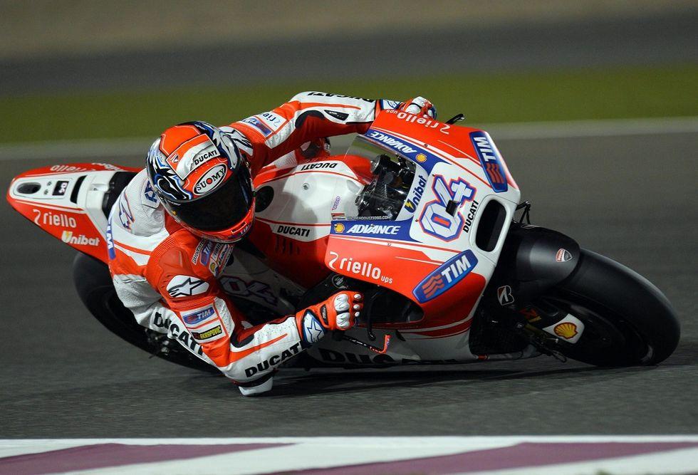 Gp Qatar, qualifiche: pole Dovizioso, Rossi ottavo