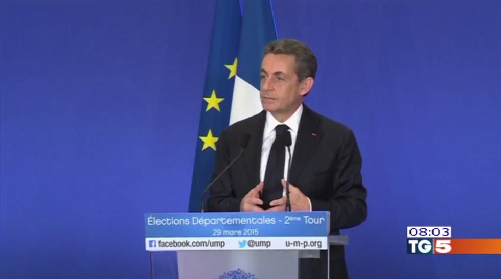 Elezioni in Francia: trionfo di Sarkozy