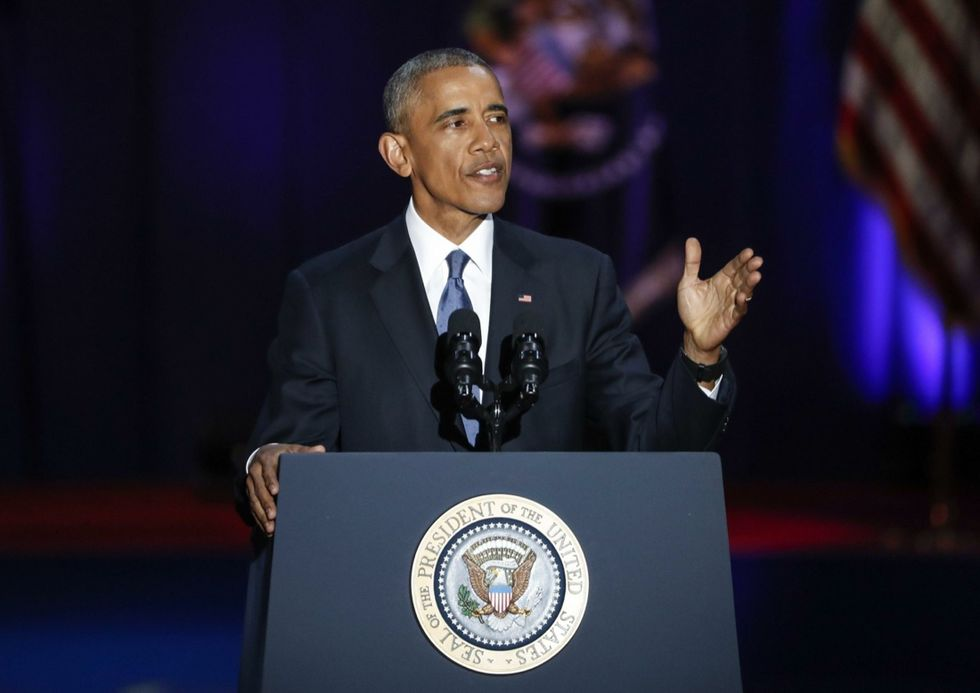 barack obama ultimo discorso