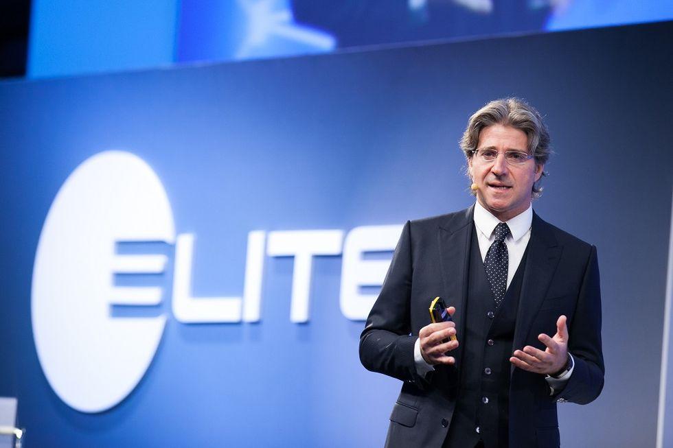 Elite CEO Luca Peyrano