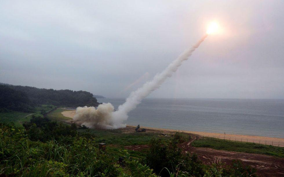 Corea-test-militare