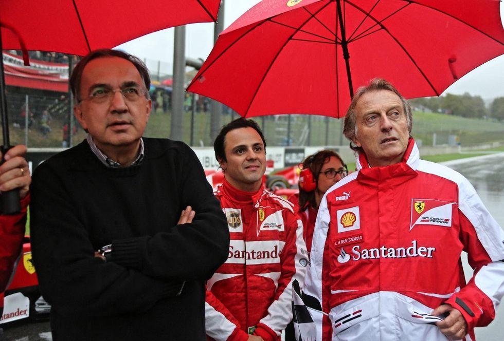 Ferrari: la vittoria di Vettel porta la firma anche di Montezemolo