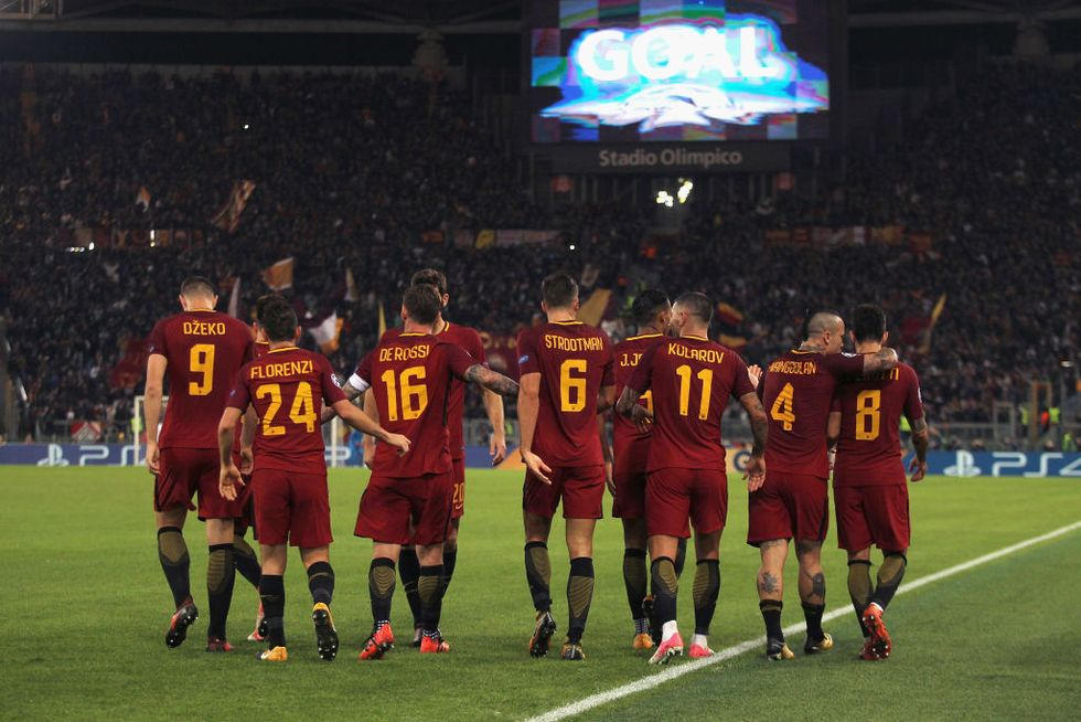roma champions league di francesco