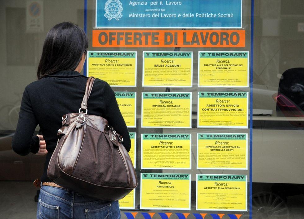 L'altalena della disoccupazione in Italia