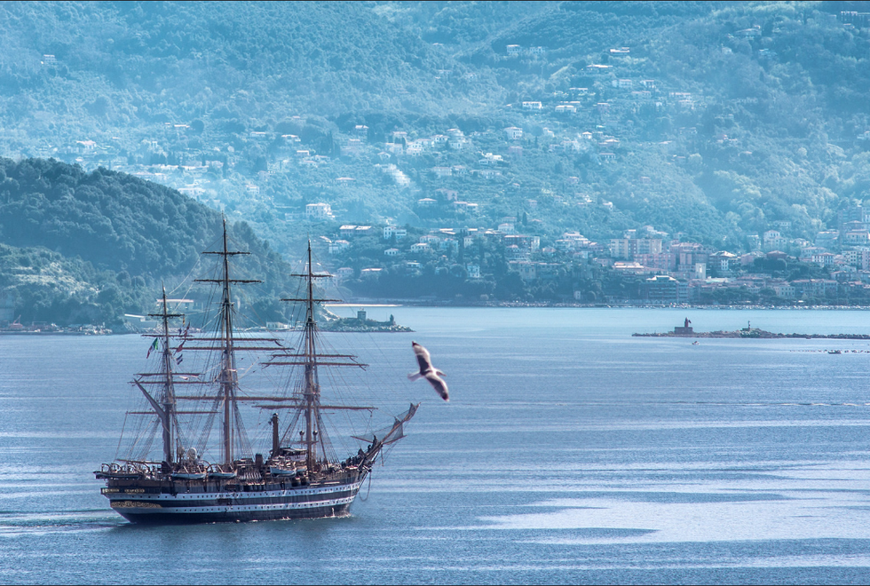 La Nave Vespucci ritorna in America