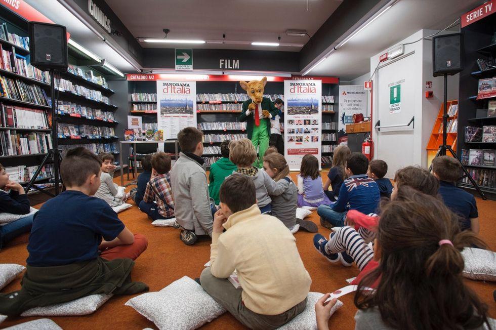 Geronimo Stilton dai piccoli lettori di Torino - FOTO