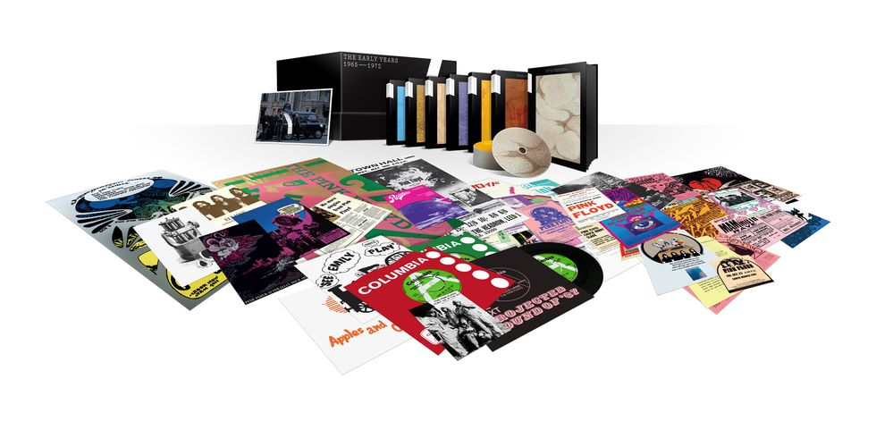 "Pink Floyd: a novembre il cofanetto deluxe ""The Early Years 1965-1972"""