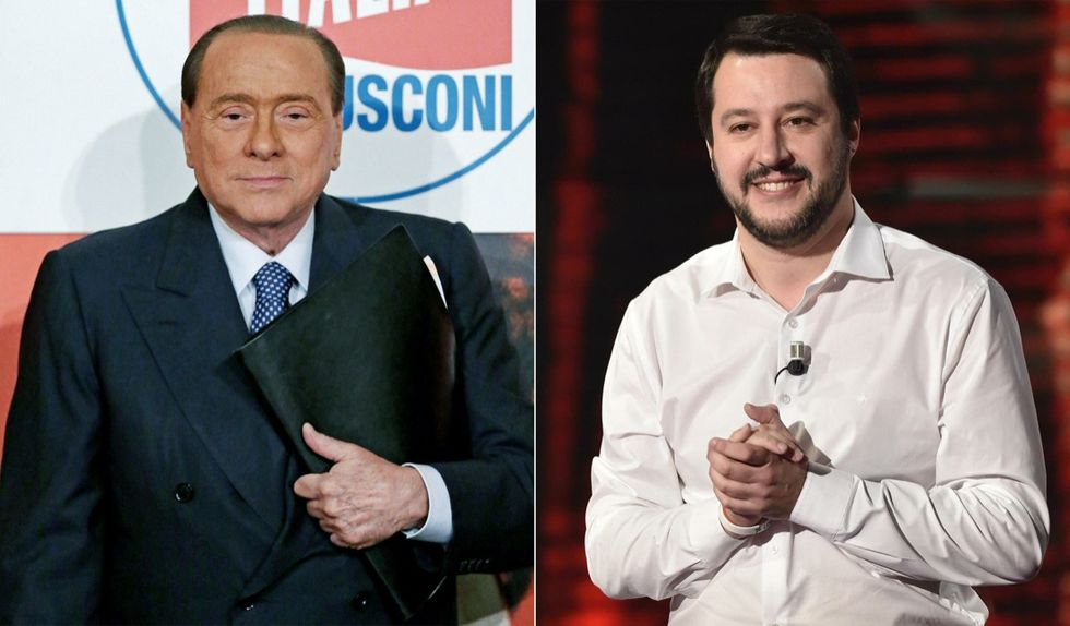 Berlusconi e Salvini insieme a Bologna