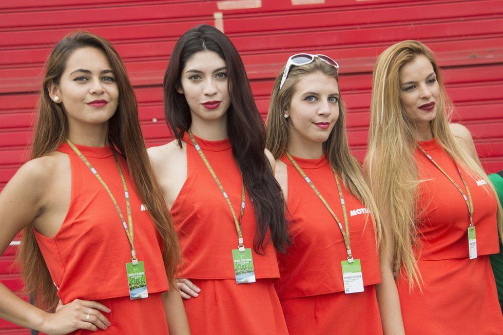 Grid Girls MotoGP Argentina 2017