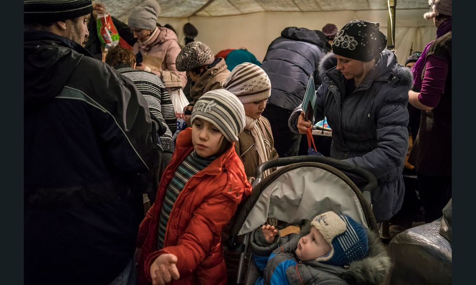 Il reportage sull'Ucraina in guerra