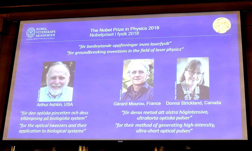 Nobel per la Fisica alle ricerche sul laser