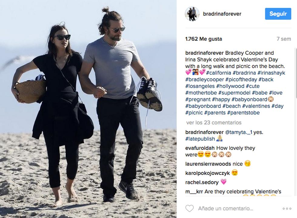 "Irina e Bradley genitori ""A sorpresa"""