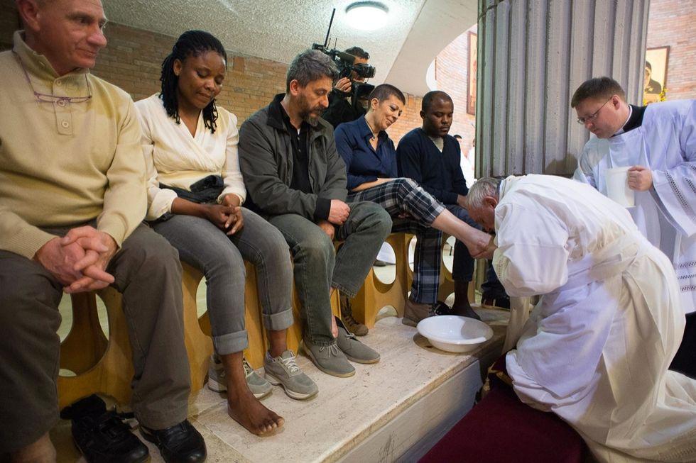 La Pasqua di Papa Francesco - Le foto