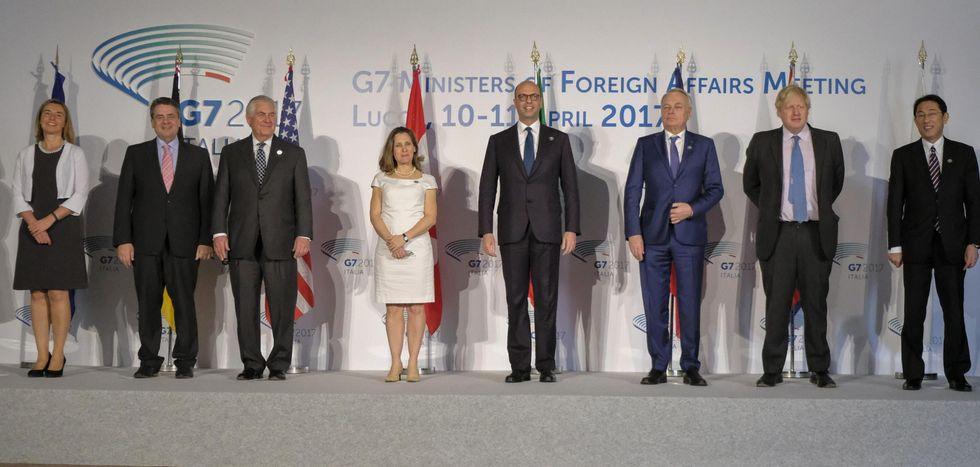 """G7, Tillerson contro Assad: """"Sta arrivando alla fine"""""""