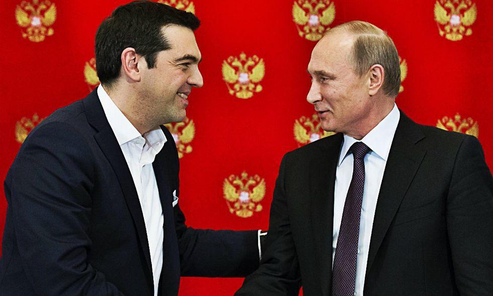 Russia-Grecia: prove di intesa, soprattutto per il gas