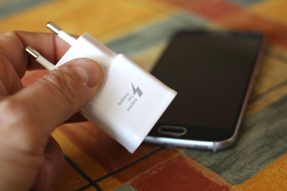 Samsung Galaxy S6: il test sulla ricarica della batteria