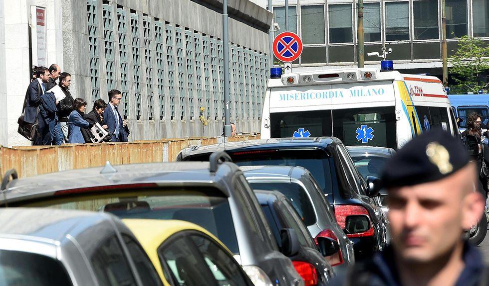 Sparatoria al tribunale di Milano: le testimonianze