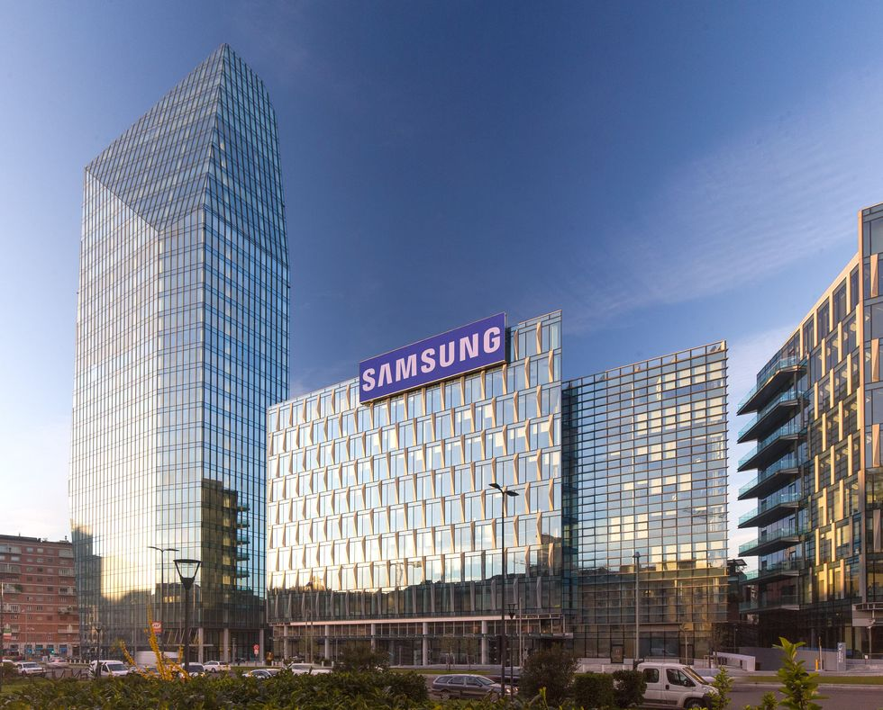 La nuova sede di Samsung