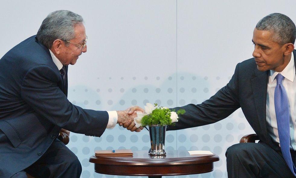 Obama-Castro: lo storico faccia a faccia