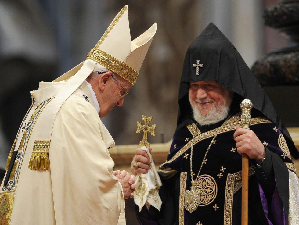 Oltre il genocidio armeno: Papa Francesco rompe ogni silenzio