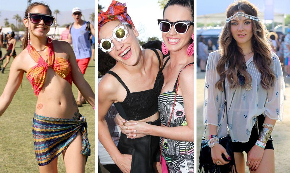 Le ragazze del Coachella 2015