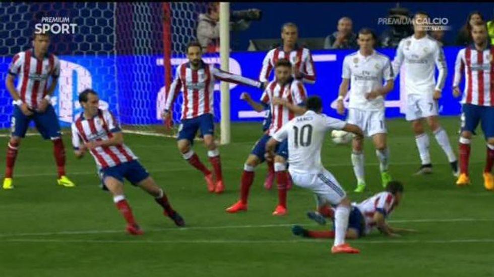 Quarti di Champions: Atletico- Real Madrid 0-0, le immagini