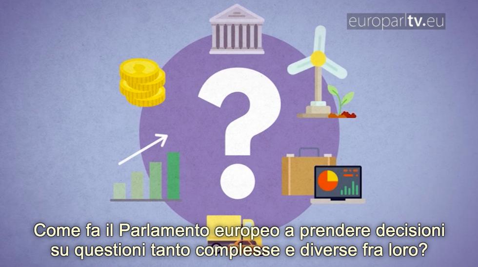 Parlamento europeo commissioni guida