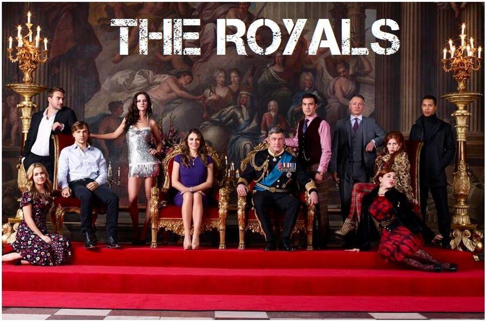 The Royals: la famiglia reale inglese in una serie tv