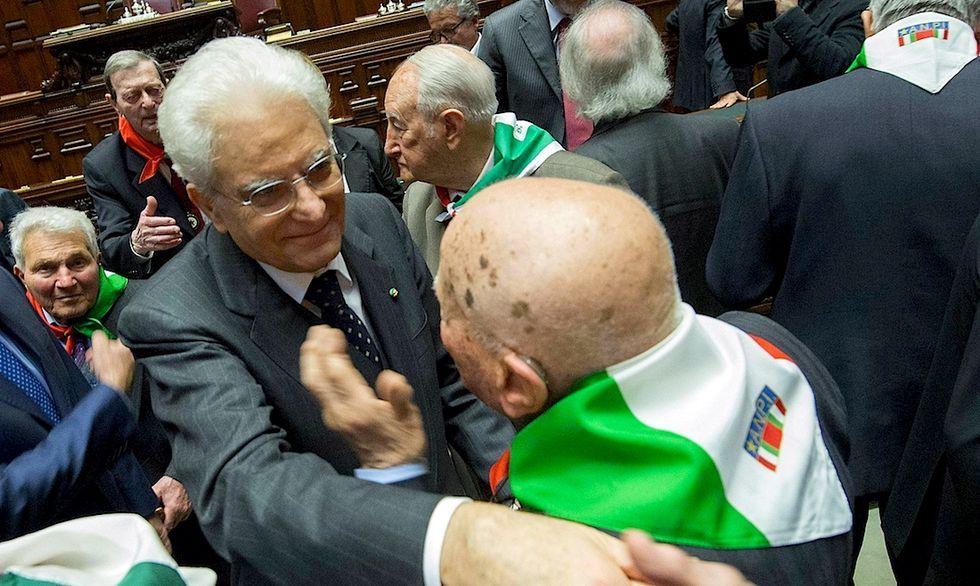 Partigiani alla Camera a 70 anni dalla liberazione - Foto