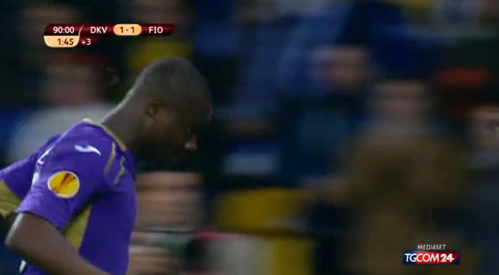 Europa League: Dinamo Kiev-Fiorentina 1-1 - le immagini