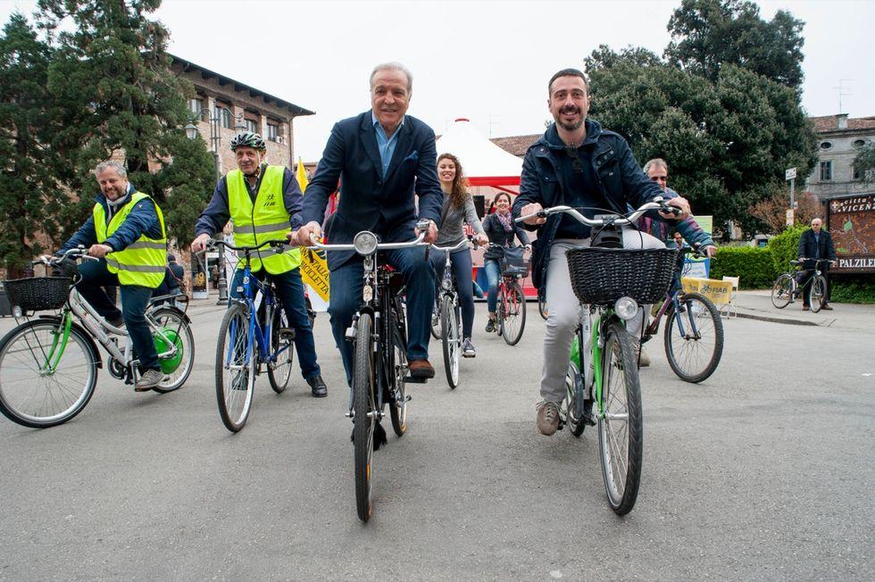 Il Bike tour nel centro storico di Vicenza