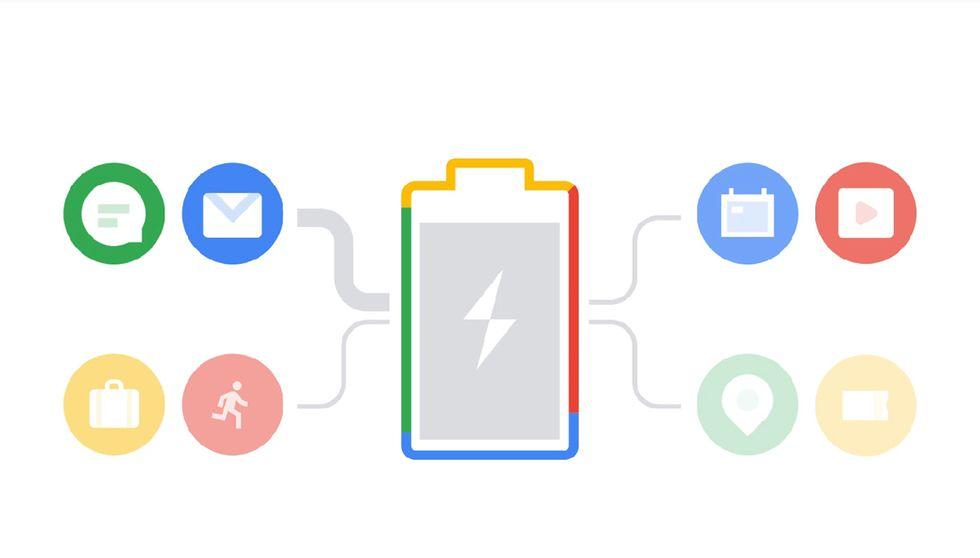 Android Pie 9 batteria
