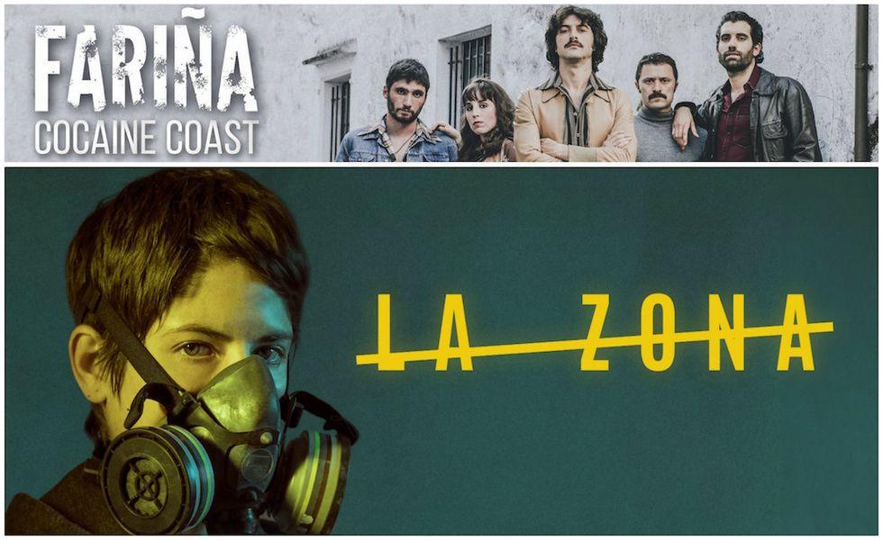 La zona e Farina (Cocaine Coast): due serie crime Made in Spagna