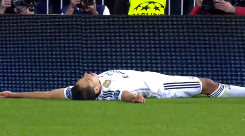 Ch. League: Real Madrid-A. Madrid 1-0