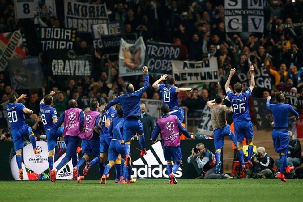 Ch. League: Monaco-Juventus 0-0 - le immagini