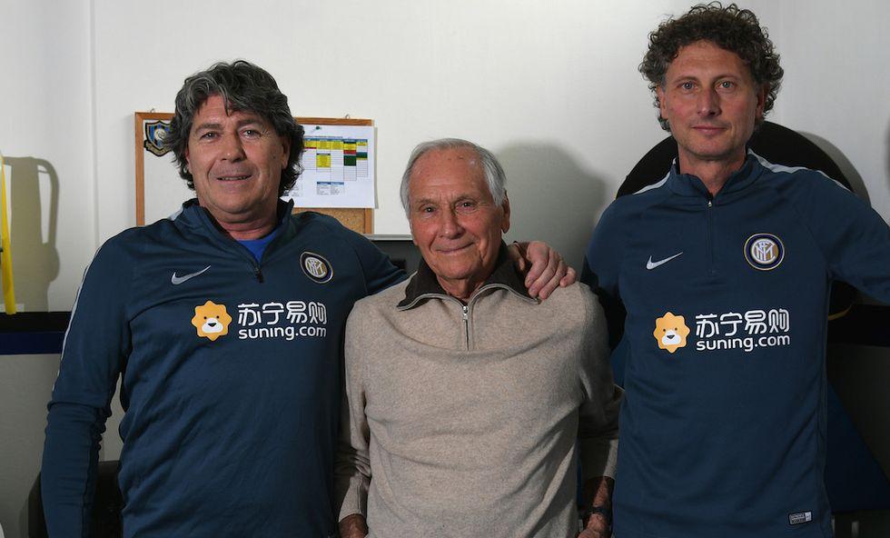 FC Internazionale Training Session Dellacasa