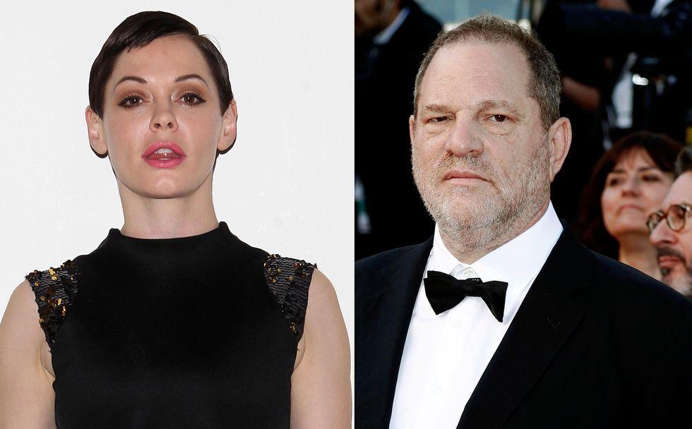 Harvey Weinstein, Rose McGowan