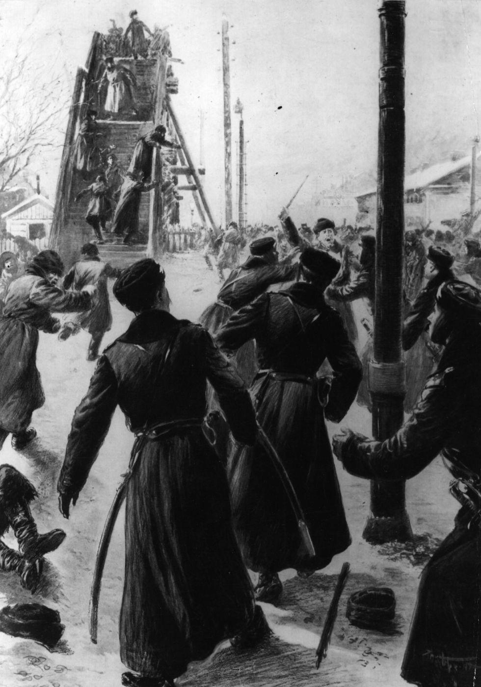 Rivoluzione russa,100 anni: le premesse (1905-1917)