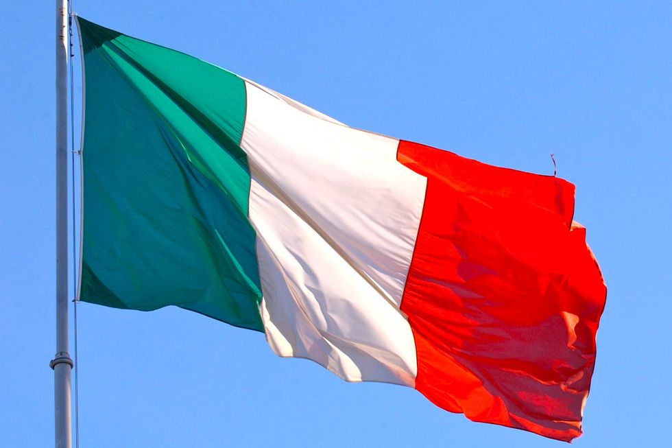 This is Italy! At last!