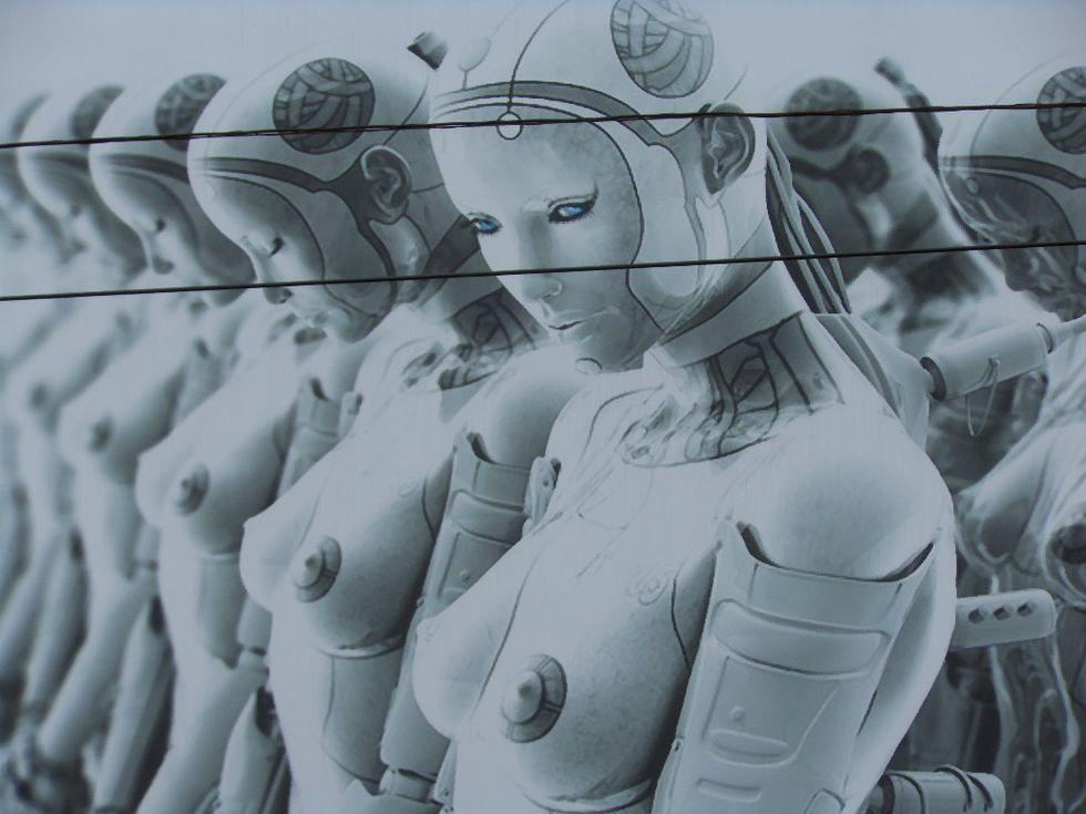 Faremo sesso con i robot nel 2050