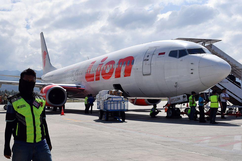 Un Boing 737 della compagnia aerea Lion Air