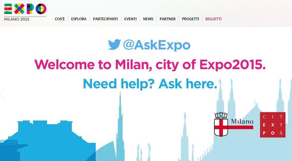 Parte Expo, anche il web è pronto (forse)