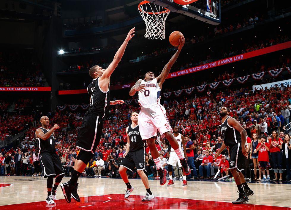 Nba: Atlanta vince e va 3-2 sui Nets. Memphis elimina Portland