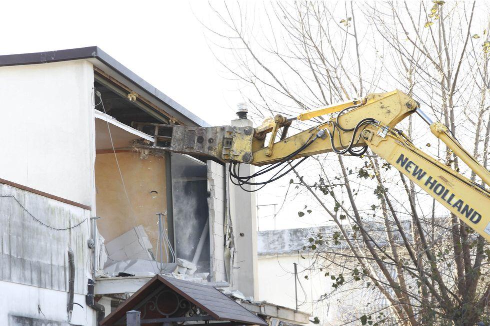 case abusive demolizione Italia ruspe