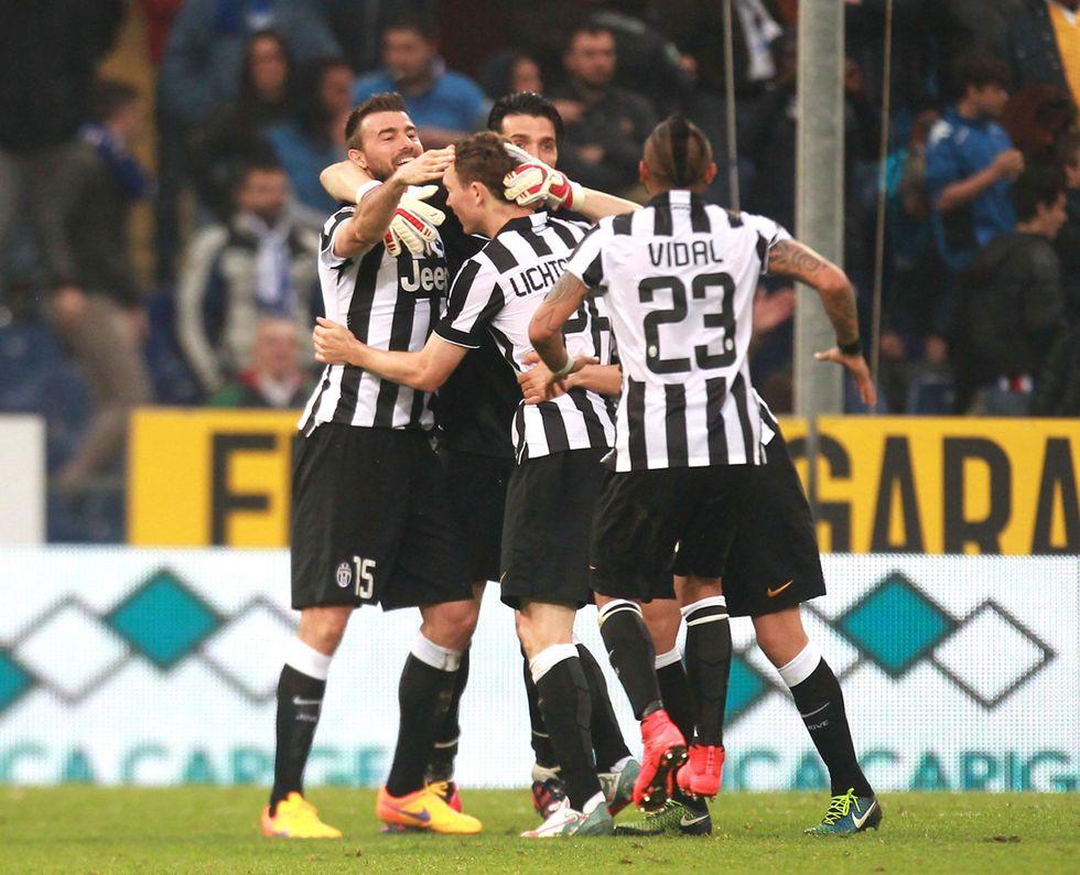 La Juventus vince lo scudetto ed è campione d'Italia