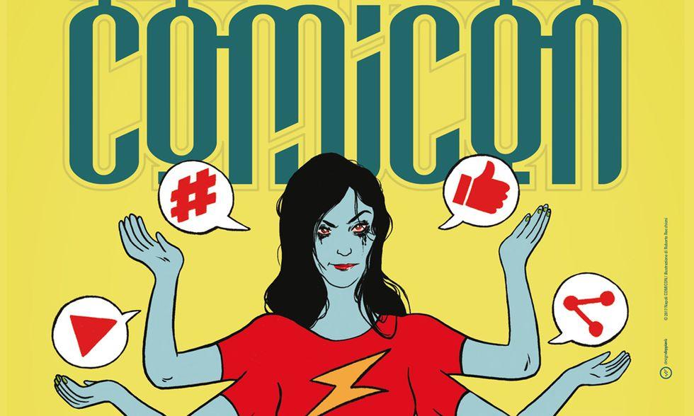 Napoli Comicon 2017: incontri, mostre, autori e libri