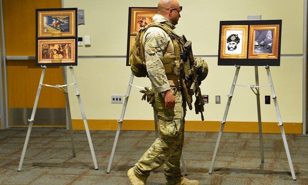 Texas, attacco alla mostra di vignette su Maometto
