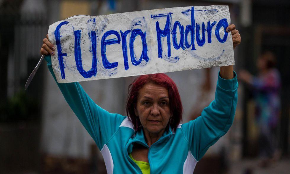 Venezuela proteste contro Maduro