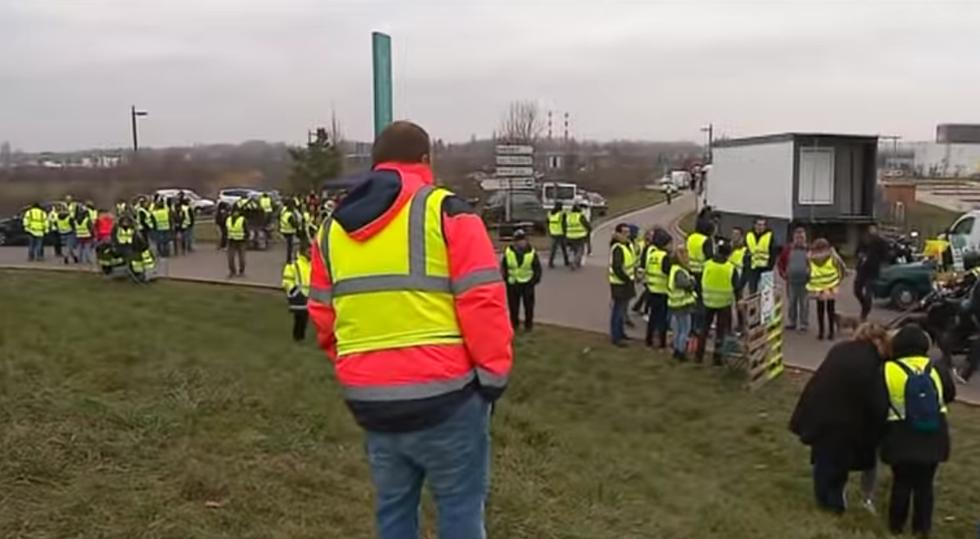 gilet gialli Francia protesta carburante